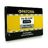 PATONA Batterie BL-51YF pour LG DS1402 G4 G4 Dual SIM G4 Dual-LTE H810 H811 H815T