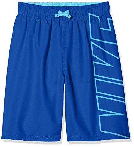 Nike Bademode Jungen, blau (lt blue fur), L