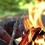 Light My Fire Grill/ Feuergabel im 4er Pack, rot, gelb, grün, navyblau, (FARBE SORTIERT) -