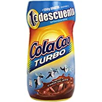 Cola Cao - Turbo bebida con sabor a chocolate - 750 g + 150 g - [Pack de 2]