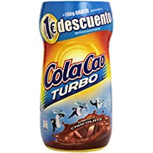 Cola Cao - Turbo bebida con sabor a chocolate - 750 g + 150 g -