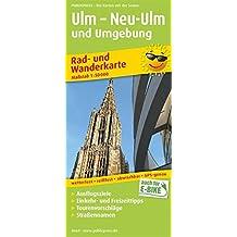 Ulm – Neu-Ulm und Umgebung: Rad- und Wanderkarte mit Ausflugszielen, Einkehr- & Freizeittipps, wetterfest, reißfest, abwischbar, GPS-genau. 1:50000 (Rad- und Wanderkarte/RuWK)