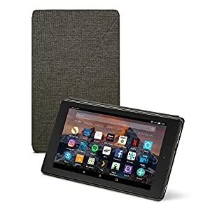 """Amazon Fire HD 8 Case (8"""" Tablet, 7th and 8th Generation – 2017 and 2018 release), Black"""