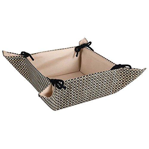Beige para tela pan cesta-panadiere francés pan cesta, también apto para servir servilletas