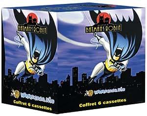 Coffret Batman 6 VHS : Batman et Robin / Catwoman / Mr Freeze / Empoisonnneuse / Ennemis jurés / Joker