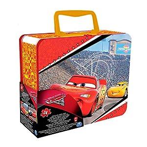 Bizak - Puzzle en Caja Metal Cars Disney
