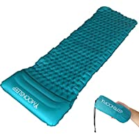 Colchoneta Inflable de Camping Frostfire con una almohada inflable separada