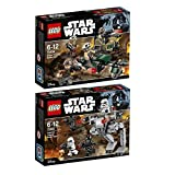 Lego Star Wars 2er Set 75164 75165 Rebel Trooper Battle Pack + Imperial Trooper Battle Pack