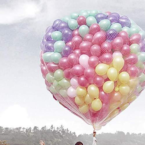 PILIBEIBEI Release Nets Fall Off Nets Leer und Lift Nets Helium Release Spezialwerkzeug (Nicht enthalten Ballons),Holds200balloons - Ballon-netz