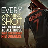 Love st. Mahendra Singh Dhoni Poster (Paper)