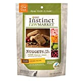 Instinct Freeze Dried Raw Market Nuggets Grain Free Chicken Recipe Natural Cat Food by Nature's Variety, 2 oz. Trial Size Bag