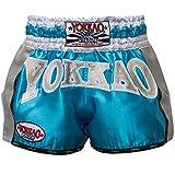 """YOKKAO ' Carbon Muay Thai Pantalones Cortos Storm, fabricado a mano en Tailandia Talla: L 30"""""""