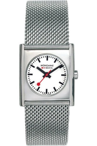 £165.00 Latest Mondaine Ladies Analogue Bracelet Watch