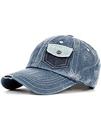 aa4d3ce562b60 LUFA Hombres Mujeres Gorras de béisbol de Bolsillo como el diseño de Sombreros  para el Sol Sombrero de Vaquera…