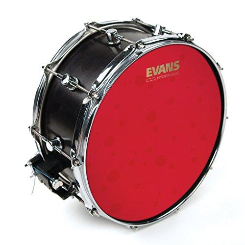 Evans Hydraulic Red. Parche batidor caja rugoso rojo