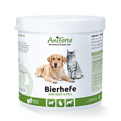 AniForte reine Bierhefe 500 g - versch. Größen - Naturprodukt für Hunde, Katzen und Pferde