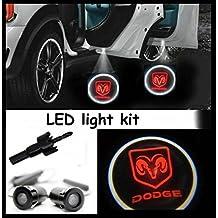 Illuminazione Di Ingresso (luce porta) LED CREE R3Light Kit Dodge Ram Logo (Coppia)