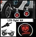Einstiegsbeleuchtung ( Türlicht ) LED CREE R3 light kit Dodge Logo Ram 1500 , 2500 , 3500 ( paar )