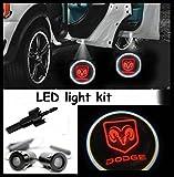 Power Parts Automotive GmbH 200-200809 Lumière Éclairage De Destination Porte LED Cree R3 Light Kit Paire