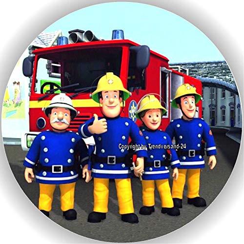 Premium Esspapier Tortenaufleger Feuerwehrmann Sam T2