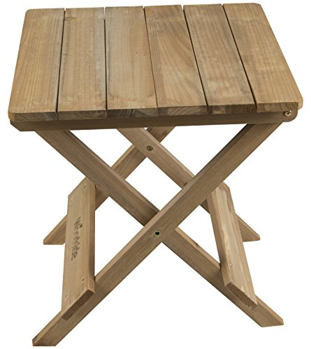 Woodside Folding Coffee Side Snack Table Wooden Garden Patio Furniture