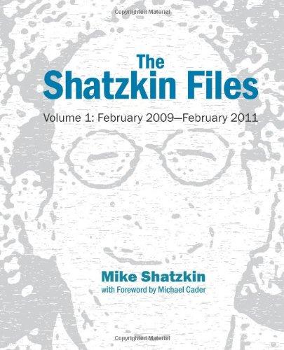 The Shatzkin Files: Volume 1: February 2009 - February 2011