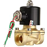 Generic 2W-200-20 Ac220V 3/4? Inch Brass Electric Solenoid Valve Water Air Fuels