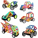 118Pcs Magnetic Building Blocks Toys Educational Magnetic Tiles Set for Boys/Girls, Stacking Blocks for Toddler/Kids - All of