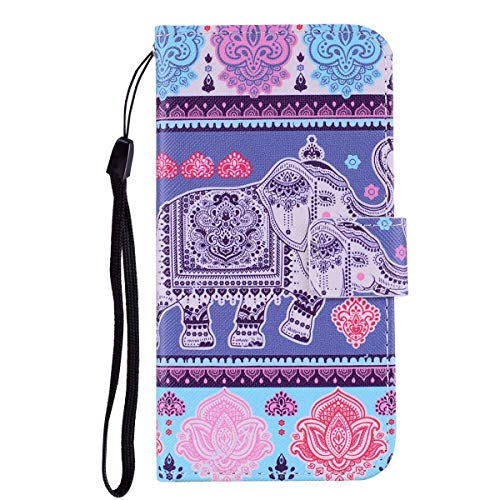 Iphone 7 Iphone 8 Flip Case Sonwo Cute Colorful Pattern Pu Leather Wallet Notebook Case For Apple Iphone 7 Iphone 8 With Kickstand Card Slots