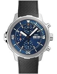 Aquatimer Chronograph Blue Dial Black Rubber Men's Watch