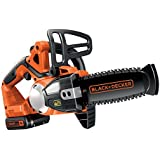 BLACK+DECKER 18 V Lithium-Ion 20 cm Chainsaw with 2 Ah Battery