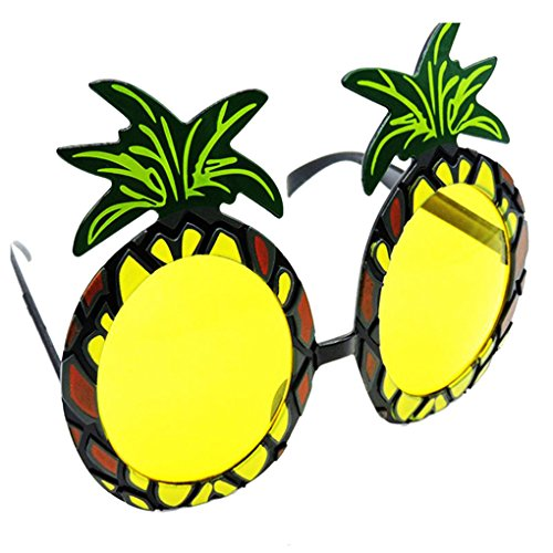 fish Unisex Strand Hula Partei Frucht-Ananas-Sonnenbrille Partei-Dekoration Mädchen Hawaii-lustige Brillen Brillen