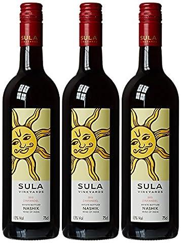 Sula Vineyards Zinfandel 2015 75 cl (Case of 3)