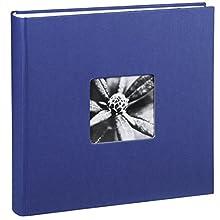 Hama Jumbo Album Fine Art, 30 x 30 cm, 100 White Pages, Blue, Paper