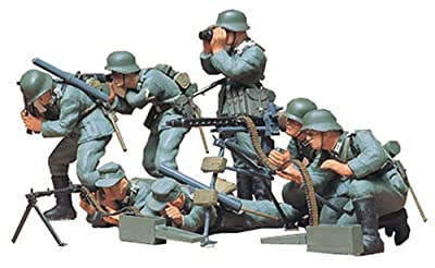Tamiya 1:35 German Machine Gun Troops (Infantry)