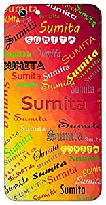 Sumita (A Good Friend) Name & Sign Printed All over customize & Personalized!! Protective back cover for your Smart Phone : Asus Zenfone Max
