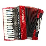 HOHNER BRAVO III 72 RED NEW