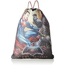 Batman Vs Superman Mochila con cordones, 43cm, 1l, color negro