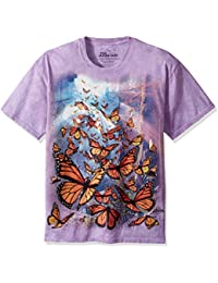 The Mountain Monarch Butterflies Adult T-Shirt Tee