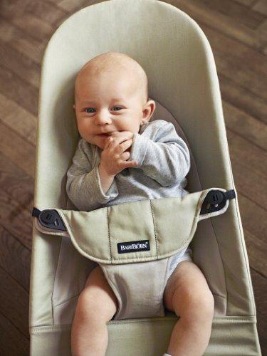 BABYBJÖRN Babywippe Balance Soft (Khaki/Beige, Baumwolle)