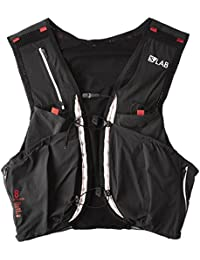 Salomon S-Lab Sense Ultra 8 W Chaleco, Mujer, Black/Racing Red, Large