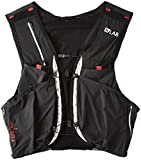 SALOMON Trinkrucksäcke S/Lab Sense Ultra 8 Set, Unisex Erwachsene, schwarz (Black/Racing Red)
