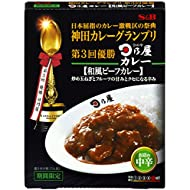 S&B Kanda Curry Grand Prix Japanese Style Beef Curry Shop's Medium Spicy 180 g × 5 Japan