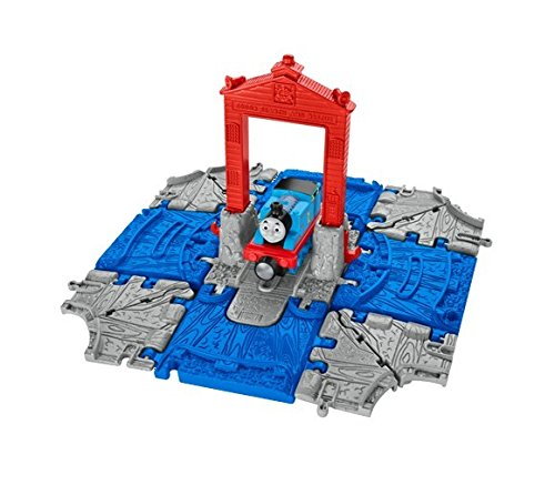 Mattel dgk92-Thomas Take' N Play Color Centro de Auxilios Pista trasportabile