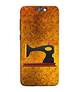 PrintVisa Designer Back Case Cover for HTC One A9 (Love Lovely Attitude Men Man Manly)