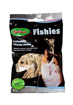 Bubimex Poissons Séchés Friandise pour Chat 50 g - Lot de 6