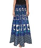 PMS Cotton Multi Color Wrap Around Skirt...
