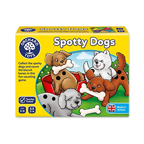 Orchard_Toys Spotty Dogs - Juego mesa inglés