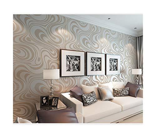 Tapete abstrakte Linien Vlies dreidimensionale Tapete Hintergrundwand weiß