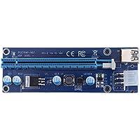 Hillrong 009S PCI-E - Adaptador de Tarjeta gráfica (PCI-E, 1 a 16 Unidades)